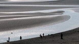 The Bay of the Somme where three people died in a kayaking accident