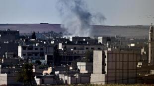La ciudad de Kobane.
