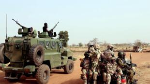 Wasu sojin Najeriya da ke yaki da Boko Haram