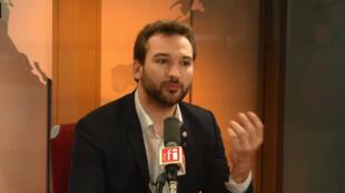 Ugo Bernalicis, député La France insoumise du Nord.