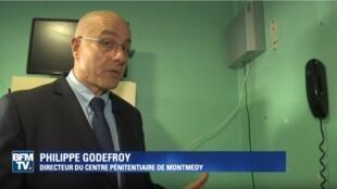 Philippe Godefroy, diretor do centro penitenciário de Montmédy
