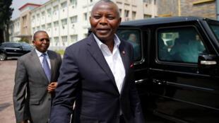 Vital Kamerhe, président de l'Union pour la nation congolaise (UNC), le 21 décembre 2016 (Image d'illustration).