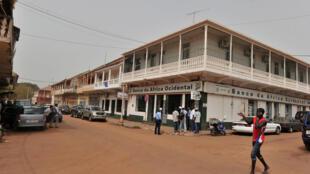 Bissau, capital da Guiné-Bissau