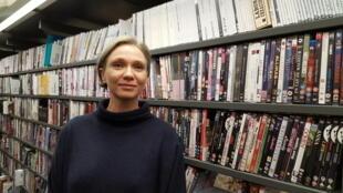 Eva Näripea, directrice des Archives cinématographiques d'Estonie.