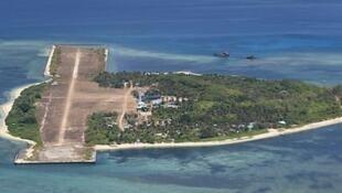 Đảo Thị Tứ, ảnh năm 2015. Chính quyền Philippines hôm 04/04/2019 tố cáo có khoảng 200 tàu Trung Quốc ở gần đảo.
