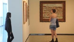 Imagem de arquivo (Retrospectiva da obra de Maria Helena Vieira da Silva no Museu de Arte Moderna do Rio de Janeiro. 20 de Dezembro de 2012.)