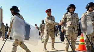 Des militaires égyptiens dans le Nord-Sinaï, en Egypte, le 1er décembre 2017.