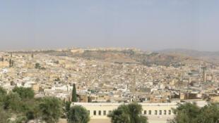 Vue panoramique de la Médina de Fès