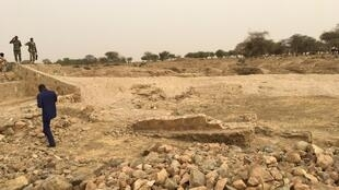 Matar trench in Aboudagam, eastern Chad, is in desperate need of repair.