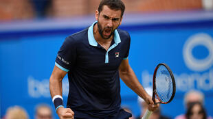 Marin Cilic is seeking a second title at the Queen's Club in west London.