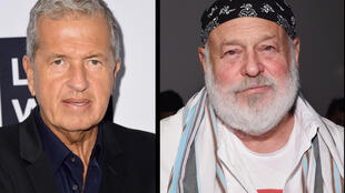 Photographers Mario Testino and Bruce Weber