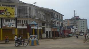 Une rue du centre-ville de Kisangani (photo d'illustration).