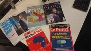 Semanários em língua francesa.
