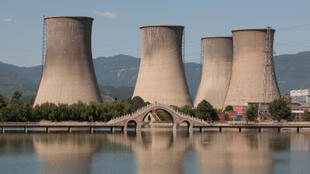 A nuclear power station in China