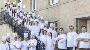 Выпускники школы ENSP