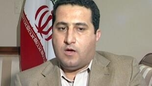A man identifying himself as Shahram Amiri, an Iranian nuclear scientist who vanished more than a year ago.