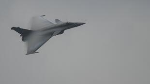 A file photo of a French air force Rafale fighter jet