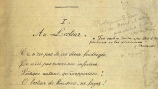 "Original manuscript of ""Cellulairement"""