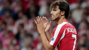 Le joueur Joao Felix (Atlético Madrid), le 18 septembre 2019.