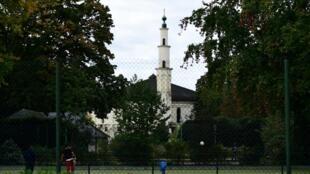 La grande mosquée de Bruxelles.