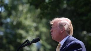 Tổng thống Mỹ Donald Trump tại Nhà Trắng, Washington, ngày 14/06/2019.
