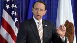 Заместитель генпрокурора США Род Розенстайн