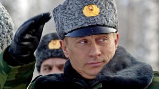 Russie Poutine Vladimir Putin Plesetsk 2004
