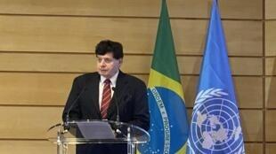 Embaixador Antônio Fernando Cruz de Mello - coordenador de relações internacionais da prefeitura do Rio de Janeiro