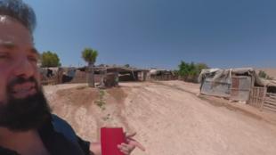 L'application Palestine VR permet de découvrir les villes palestiniennes mais aussi les camps de réfugiés avec un guide dans chaque vidéo.