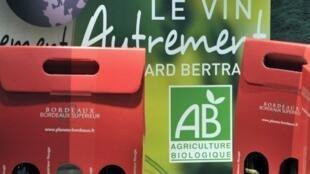 An organic wine fair in Bordeaux
