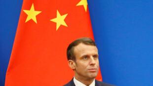 Emmanuel Macron à Shanghai, le 6 novembre 2019: «Je pense que la Chine a compris maintenant que l'Europe était organisée, que nous avions un agenda d'ouverture et de souveraineté».