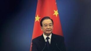 O primeiro-ministro chinês, Wen Jiabao.