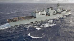 Chiến hạm HMCS Regina (FFH334) của Canada. Ảnh minh họa.