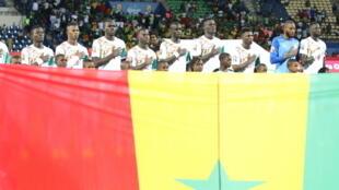 L'équipe du Sénégal lors de la CAN 2017.