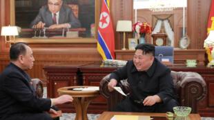 Ông Kim Jong Un tiếp một phái đoàn Bắc Triều Tiên vừa thăm Mỹ trở về.