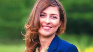 یولیا یوزیک، روزنامه نگار روس - تصویر آرشیوی