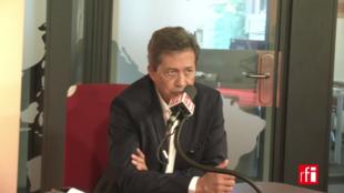Жорж Фенек в студии RFI