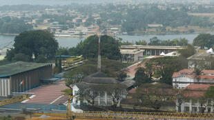 Fadar Shugaban kasar Cote D'Ivoire  a Abidjan