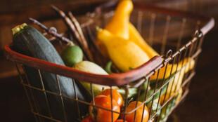 法國政府宣導每天吃5種不同的蔬菜水果