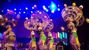 Ballets africains de Guinée, Masa festival d'Abidjan, soirée du Masa jazz festival.
