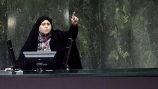 پروانه سلحشوری نماینده تهران، جلسه علنی روز (دوشنبه ۱۸ آذر/ ٩ دسامبر ٢٠۱٩) مجلس شورای اسلامی را با نطق خود متشنج کرد.