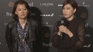 《我們的青春,在台灣》製片人與導演傅榆接受採訪資料圖片
