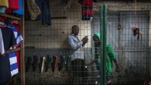 Aux abords du marché Total, dans le quartier de Bacongo à Brazzaville. (Image d'illustration)