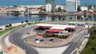 Imagem de uma estação de serviço da Sonangol. Luanda. 11 de Novembro de 2018.