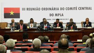 III Reunião Ordinária do Comité Central do MPLA. 03/02/2017