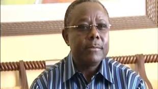 Didjob Divungi Di Ndinge, très proche de Jean Ping, ancien vice-président de la République quand Omar Bongo était au pouvoir. Ici en 2009