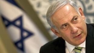 Benjamin Netanyahu, primeiro-ministro de Israel.