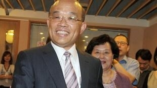 台湾民进党主席苏贞昌。