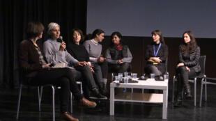 Mesa redonda sobre las mujeres de cine chilenas en Toulouse.