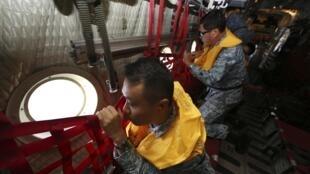 Không quân Singapore tham gia tìm kiếm chiếc máy bay AirAsia mất tích( ảnh chụp 29/12/2014)